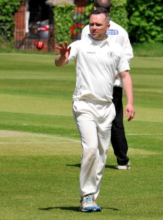 Ryan Connor took three wickets, claiming two victims in two balls during his final over
