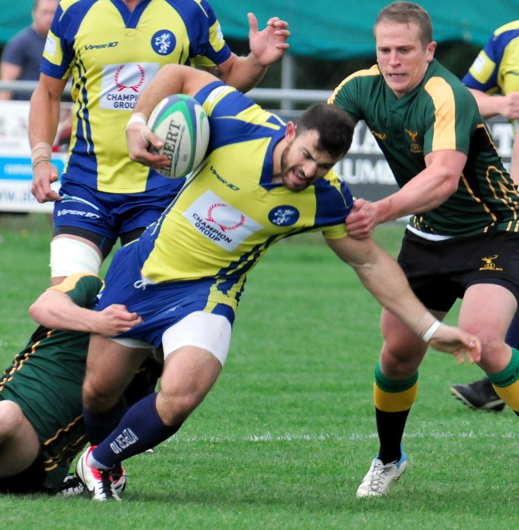 Tim Richards scored two tries as Basingstoke RFC recorded a comfortable victory over Barking.
