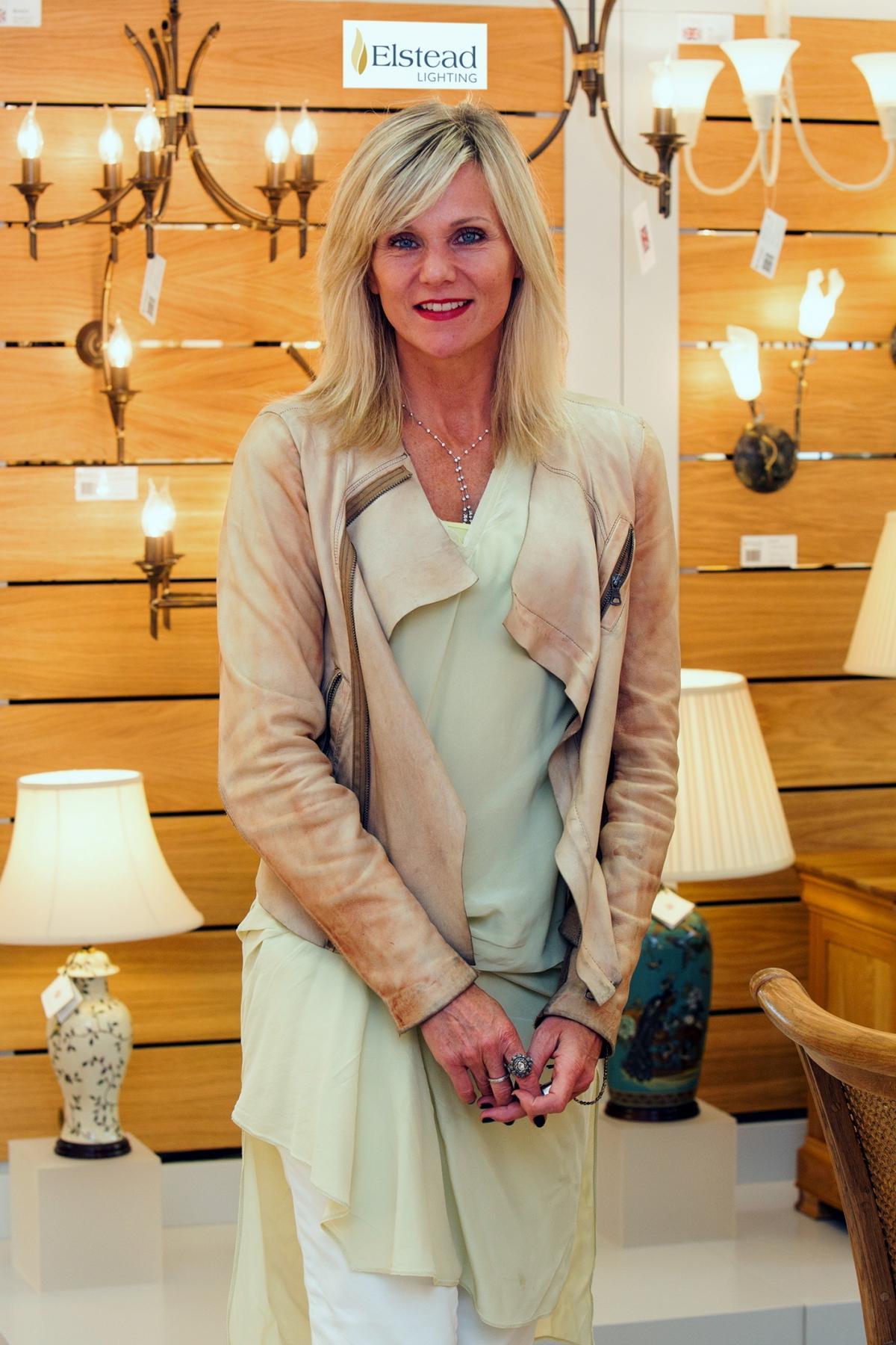 Celebrity interior designer Linda Barker opens Elstead