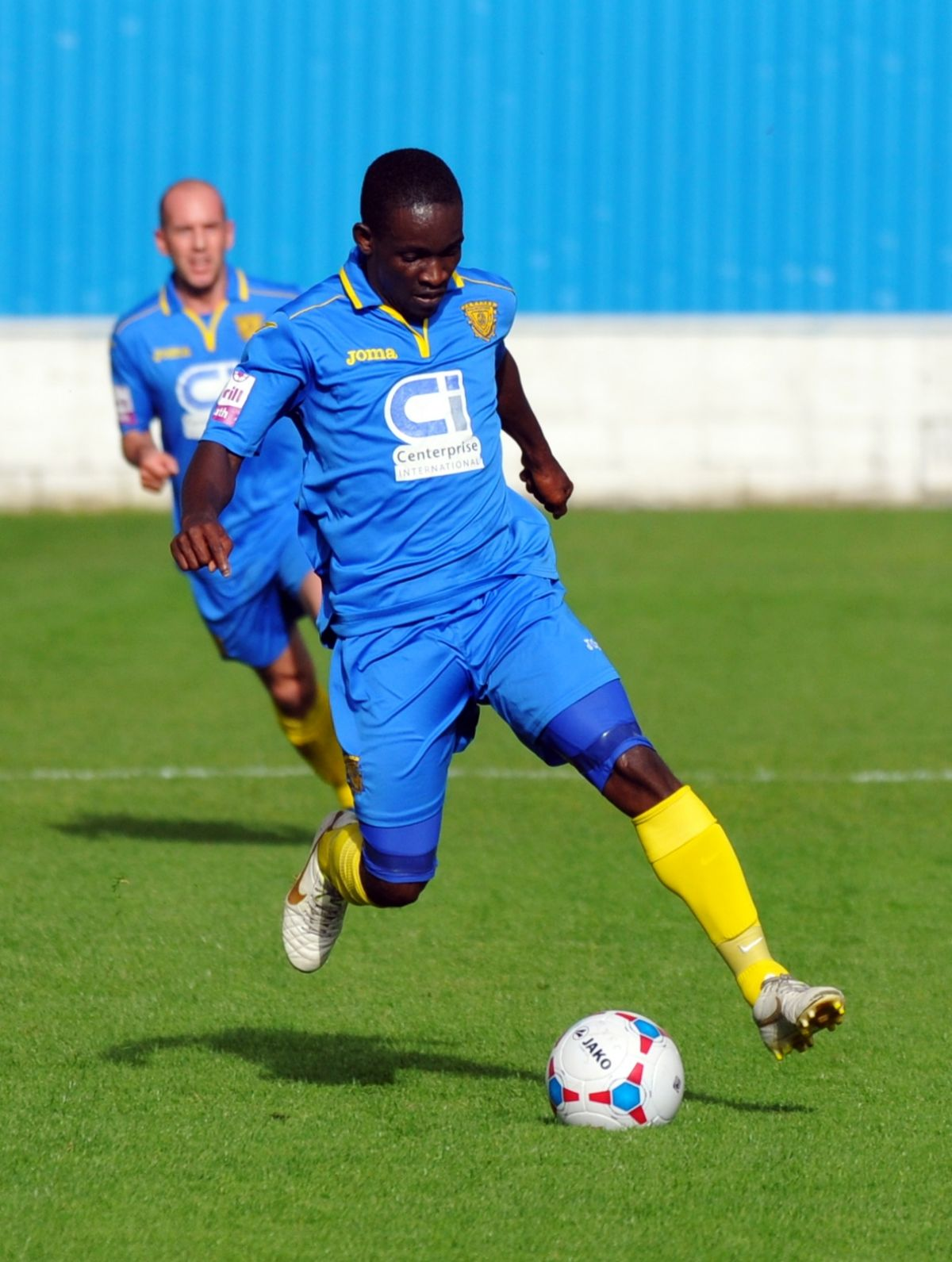 Manny Williams bagged a brace as Basingstoke Town beat local rivals Farnborough.