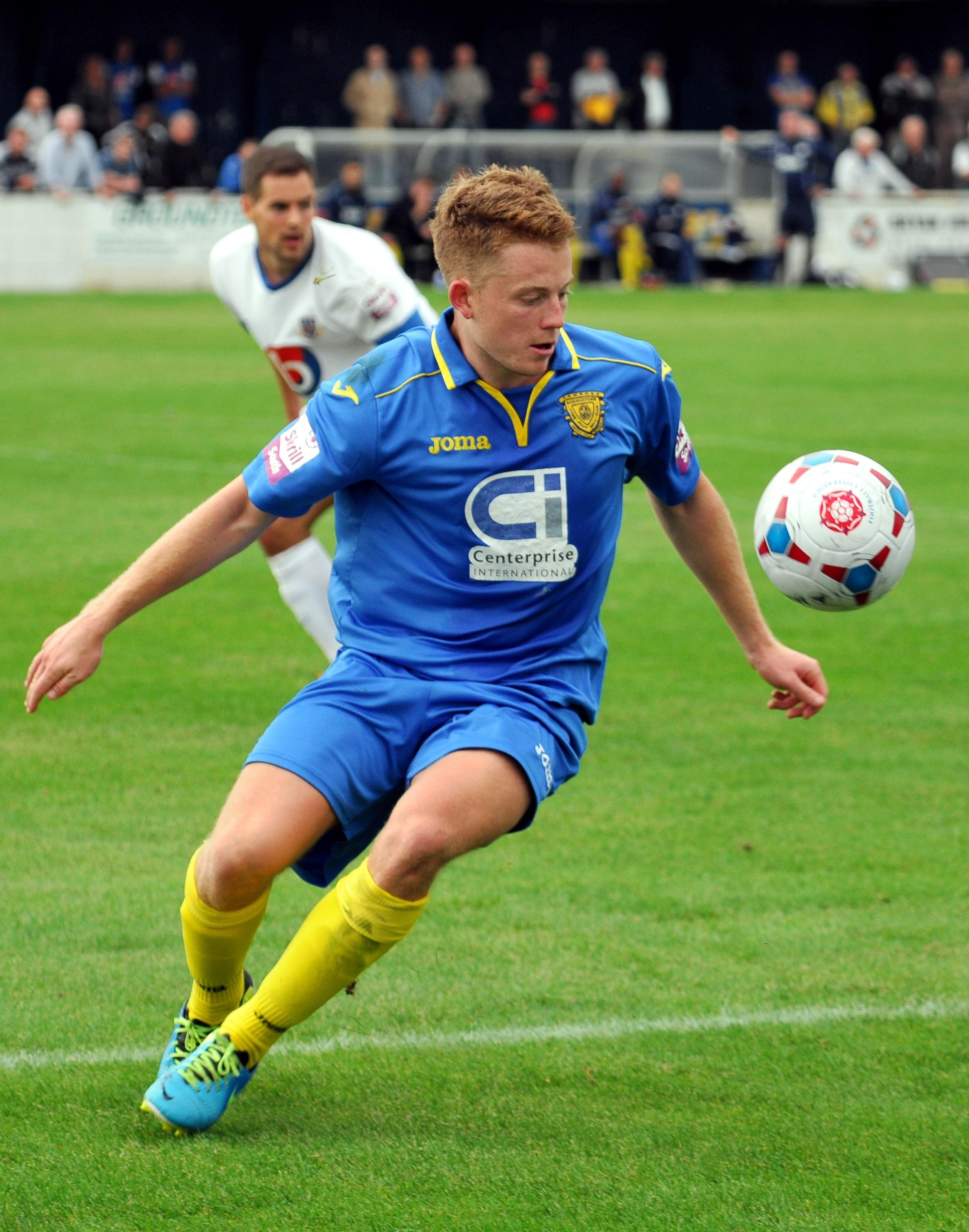 Simon Dunn made a good contribution after coming on as a substitute, but he could not inspire Basingstoke Town to victory.