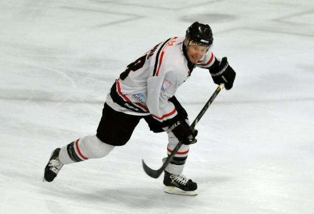 Basingstoke Bison player/coach Doug Sheppard.
