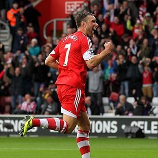 Basingstoke Gazette: Rickie Lambert is loving life at Southampton