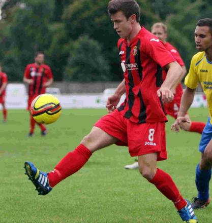 Chris Flood was on target for Basingstoke against former club Winchester City