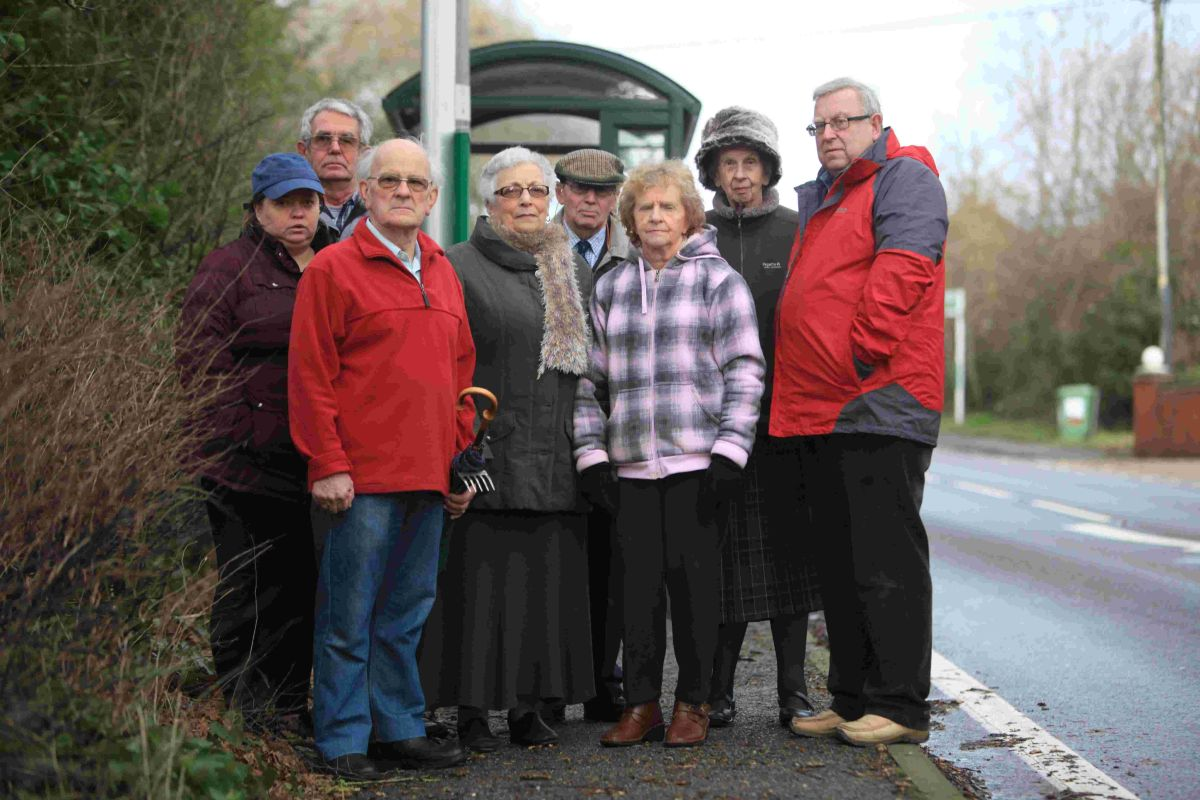 As previously reported residents have struggled after bus services were suspended as a result of the works