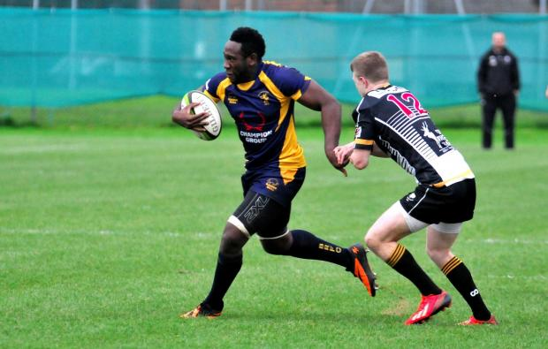 Basingstoke Gazette: Ryan Davis will return to the 'Stoke line-up for the visit of CS Rugby.