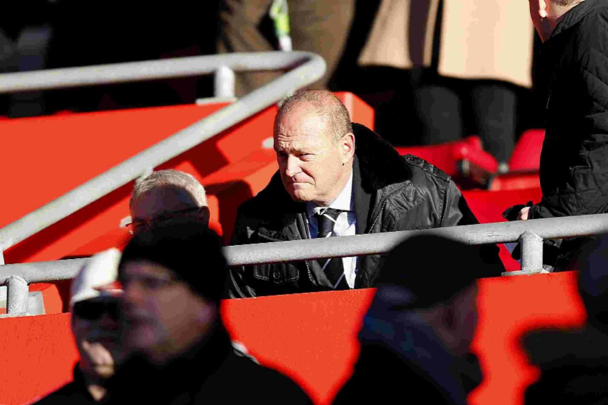 Pepe Mel at St Mary's