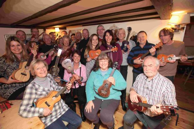 The Soberton Strummers, held their inaugural meeting at the White Lion pub.