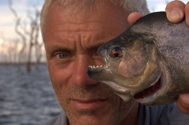 Jeremy Wade. Credit Barny Revill and Icon Films