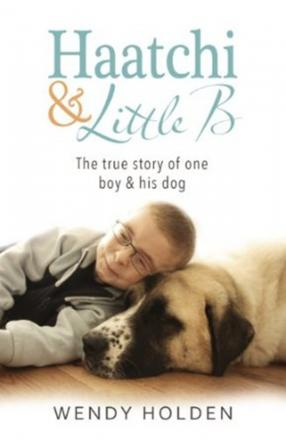 Owen Howkins and his dog Haatchi are the stars of a forthcoming book by bestelling author Wendy Holden
