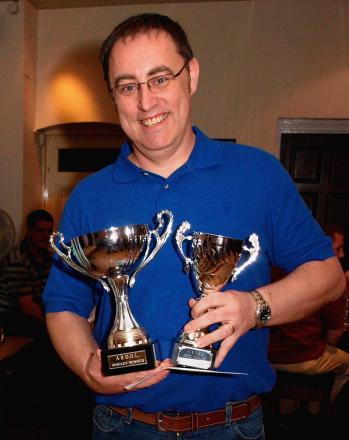 Richie Ford who was part of the winning Hamphsire County side at Heavitree Social Club, in Exeter over the weekend