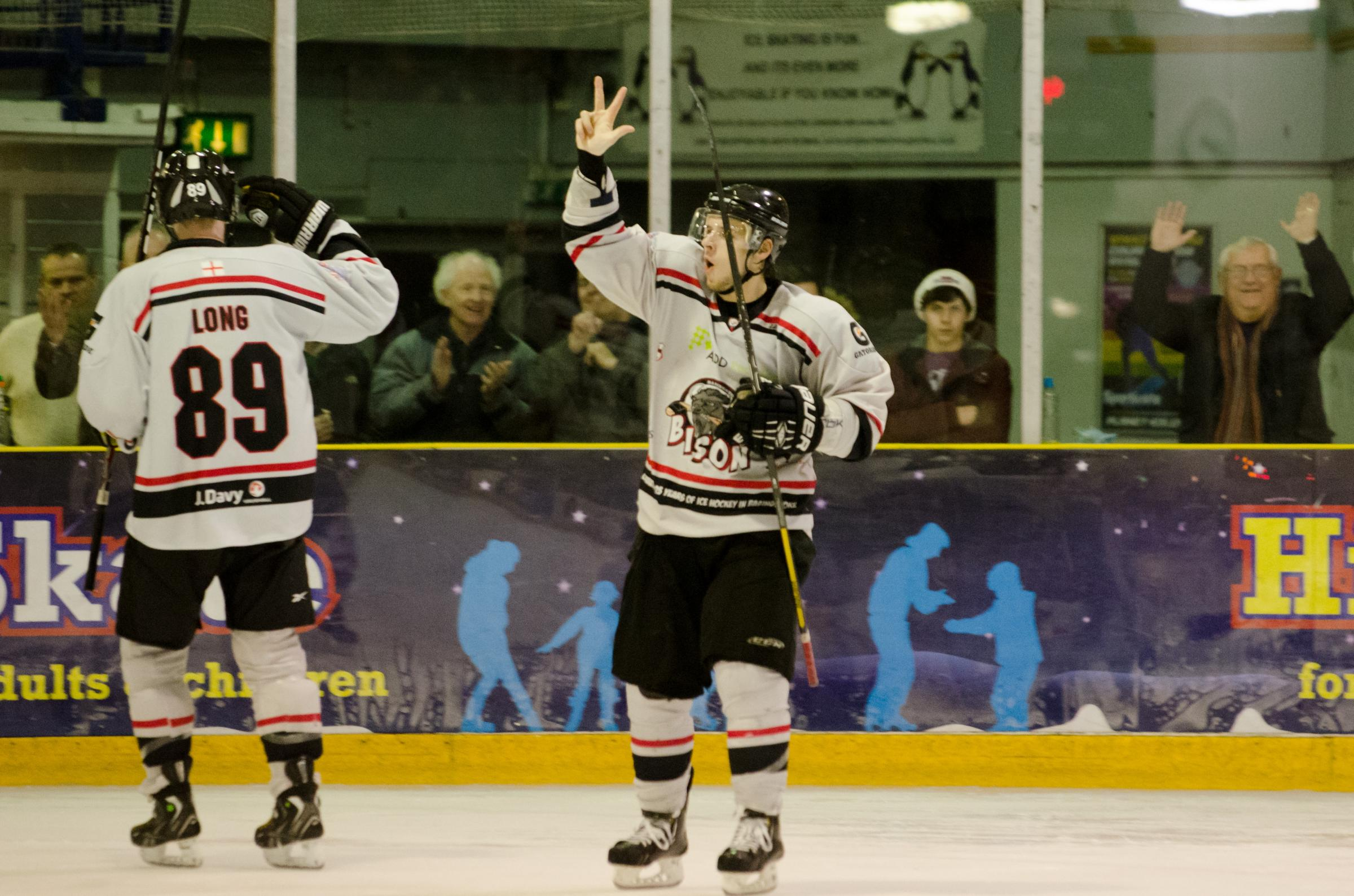 Tomas Karpov celebrates completing his hat-trick against Peterborough on Saturday.