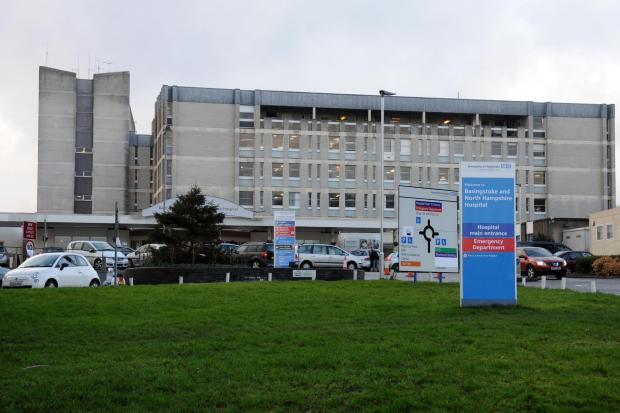 There are currently only 63 Covid-positive patients across Hampshire Hospitals