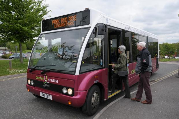 Stagecoach has promised to improve the shuttle service.