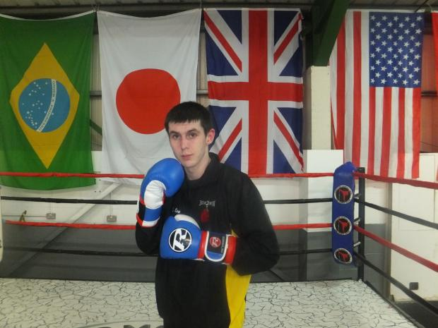 Jake Lee has his third fight this Saturday