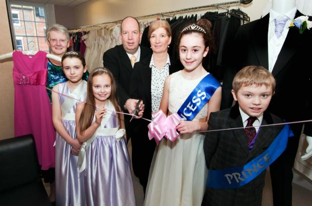 'Royal' day for shop expansion