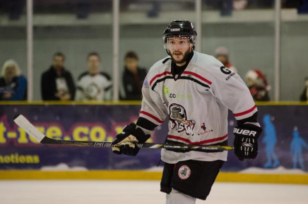 Kurt Reynolds' empty-net goal sealed the Basingstoke Bison's place in the EPL Cup final.