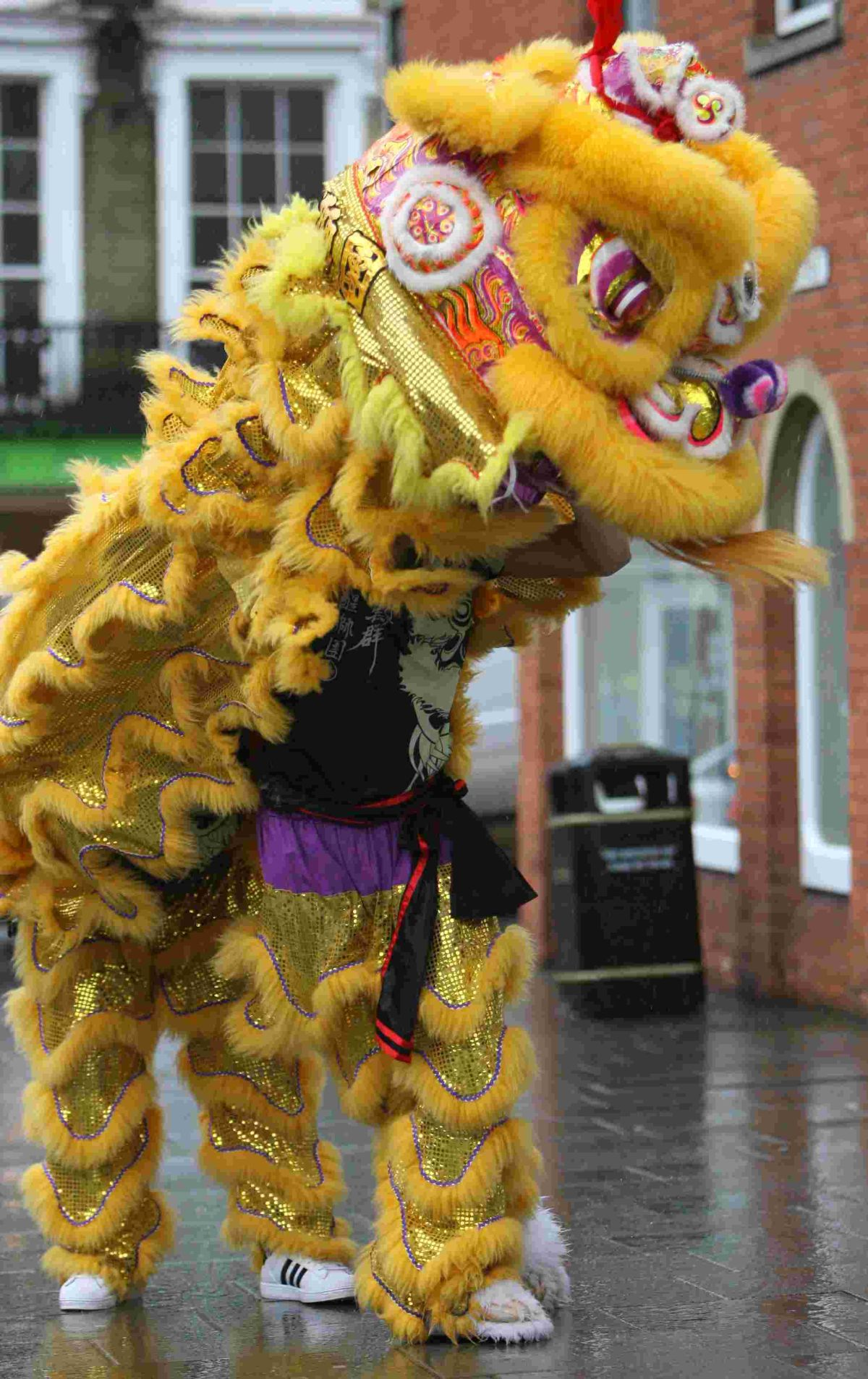 Chinese New Year Lion Dance raises over £300 for homeless charity