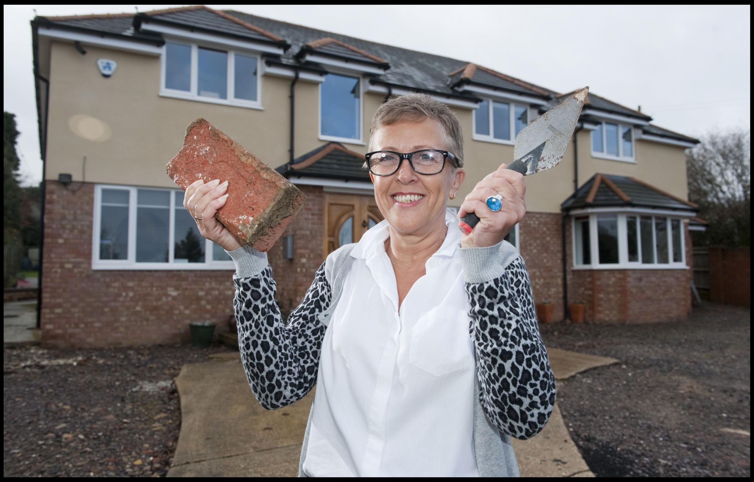 Kempshott woman built her own home after builders botched the job