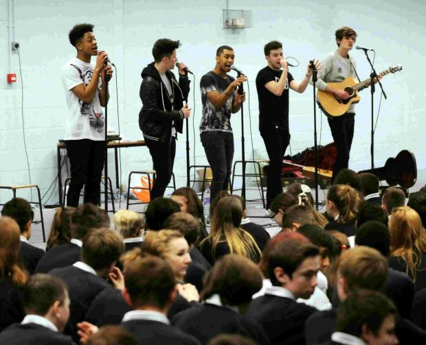 Concept perform to students at Cranbourne