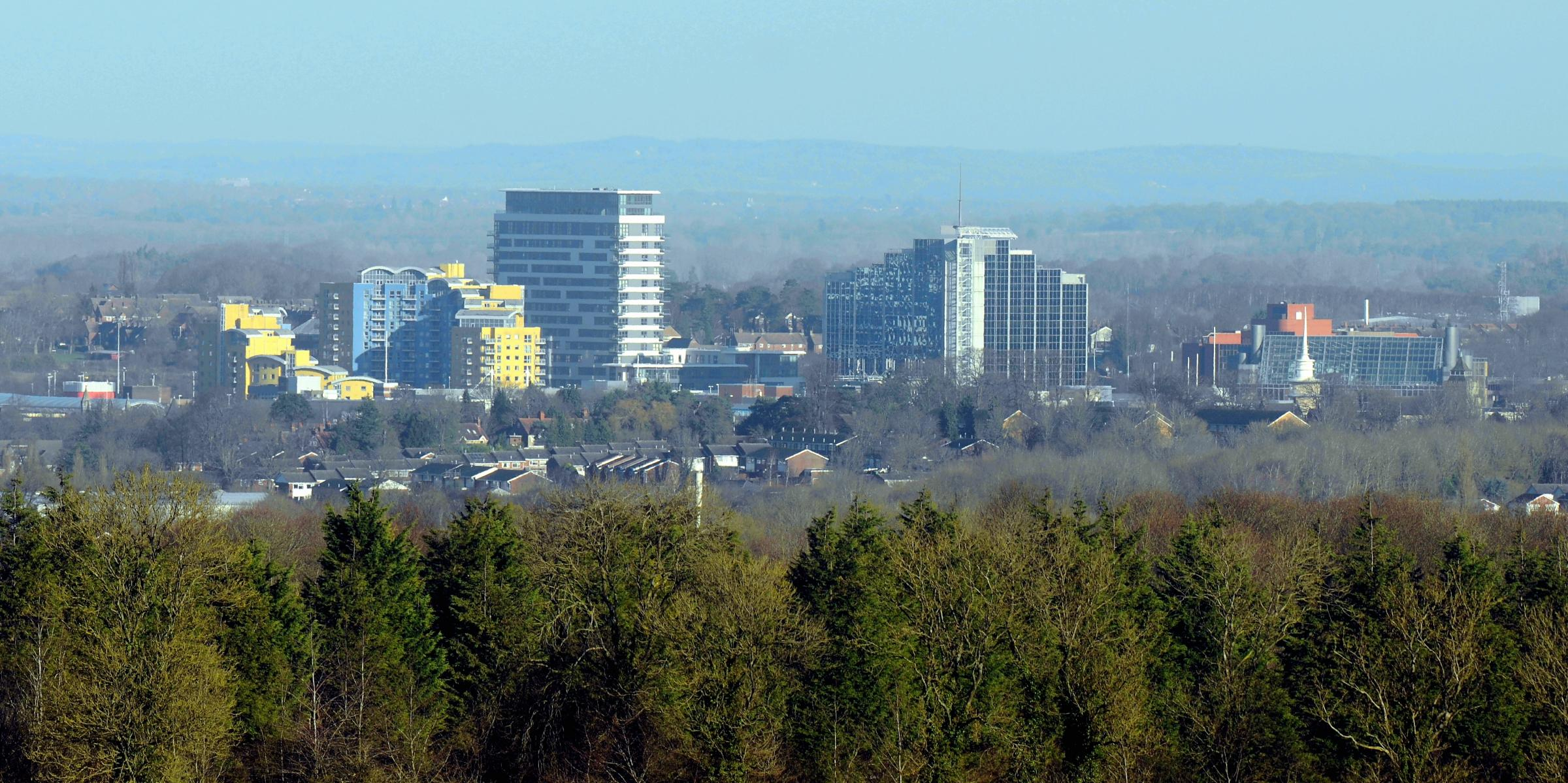 Basingstoke voted sixth least romantic destination in the UK