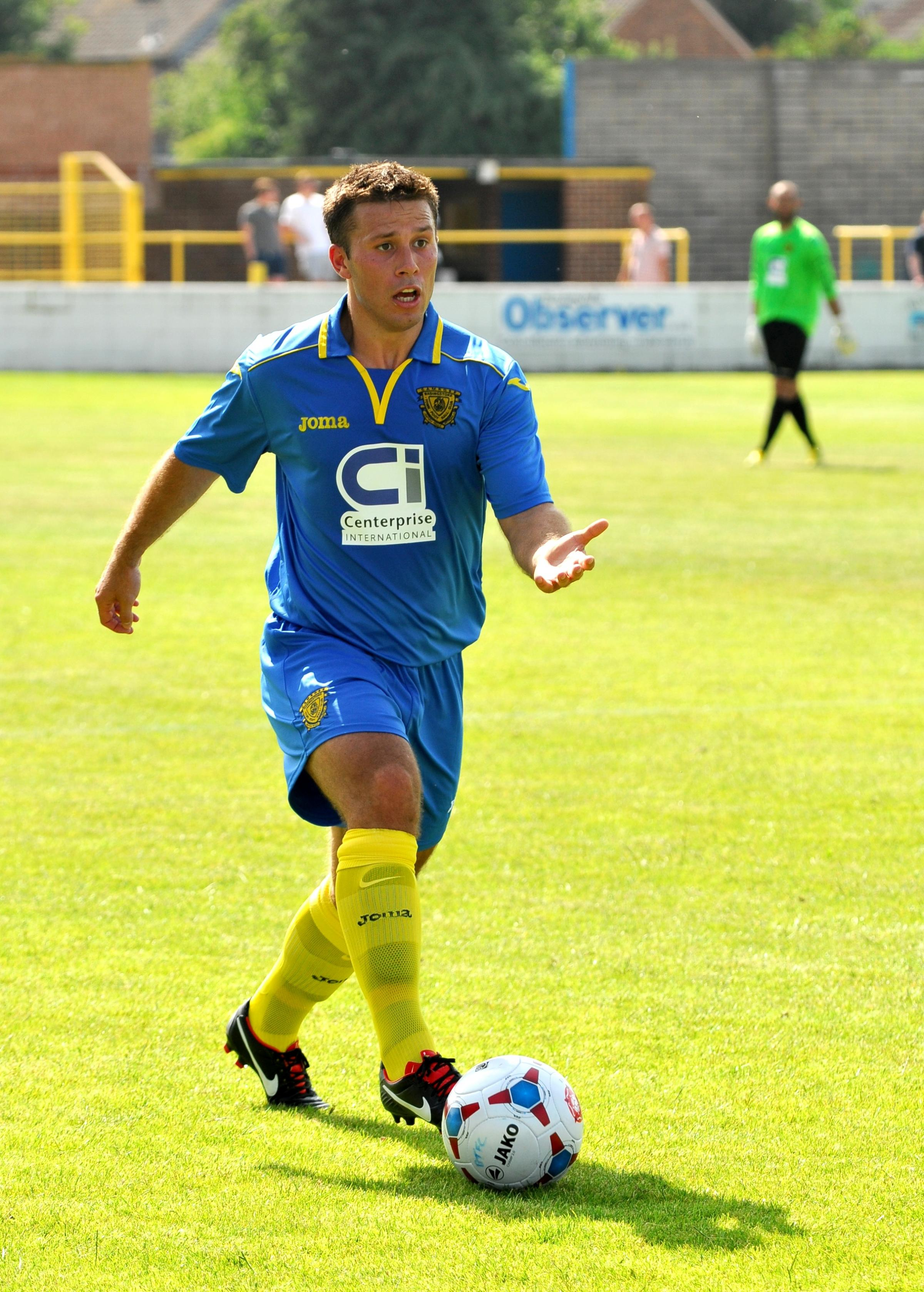 David Ray will play for Basingstoke Town again next season