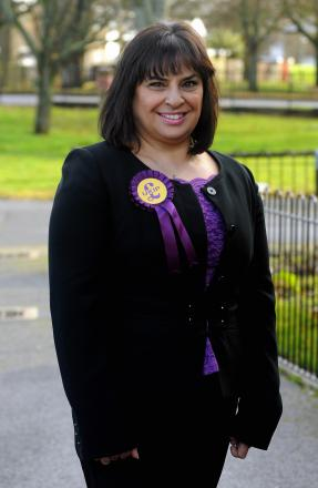 Debbie Long will run for UKIP as a potential borough councillor for the Buckskin ward in Basingstoke in May