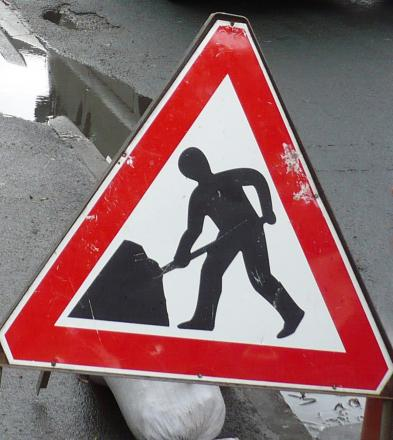 Lane closure on M3 near Winchester for roadworks