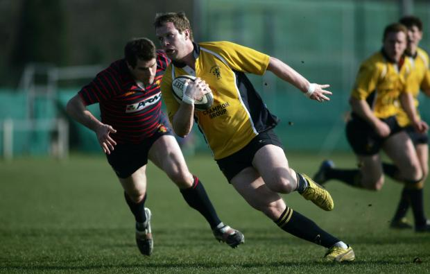 Matt Guilfoyle could play at fly-half on Saturday.