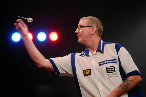 Paul Hogan was beaten by Mark Webster at Coral UK Open earlier today.