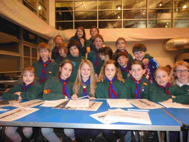 Basingstoke Gazette: Alresford and Cheriton Cub Scout pack