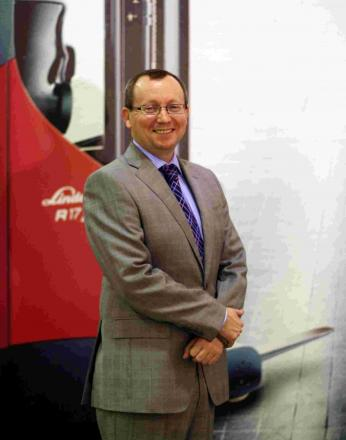 Mark Sullivan is Linde Material Handling's new head of customer service