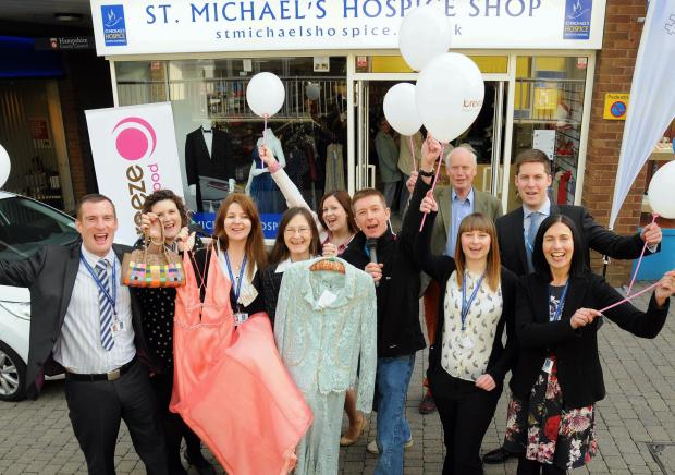 New shops opens for St Michael's Hospice