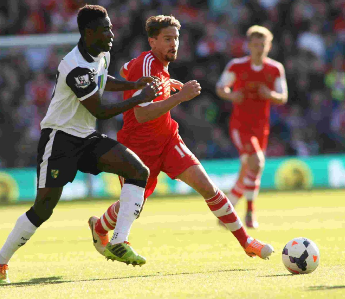 Gaston Ramirez against Norwich.