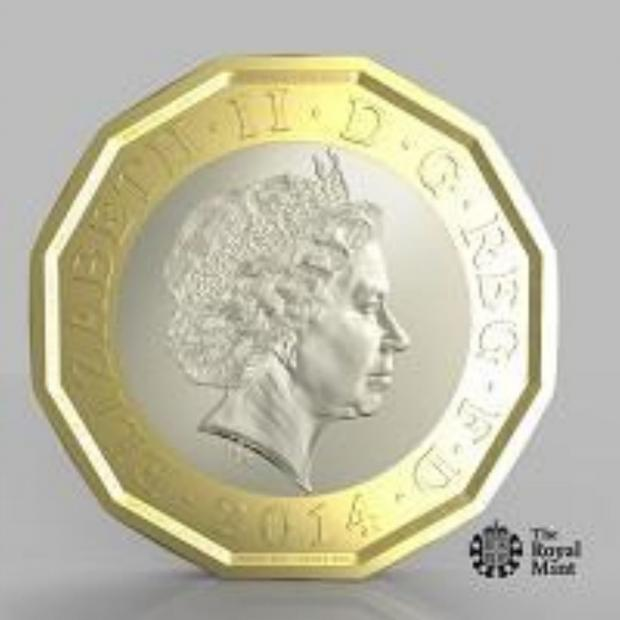 Basingstoke Gazette: New 12-sided £1 coin to be unveiled
