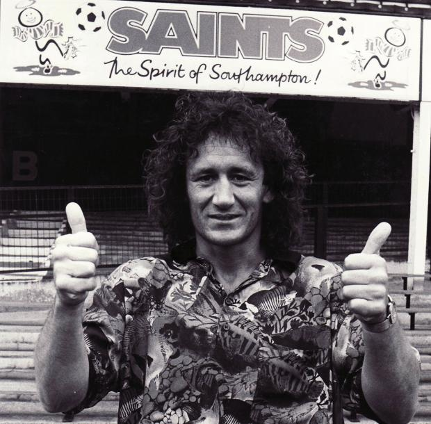 Basingstoke Gazette: Terry Hurlock, in what is possibly the worst shirt in history