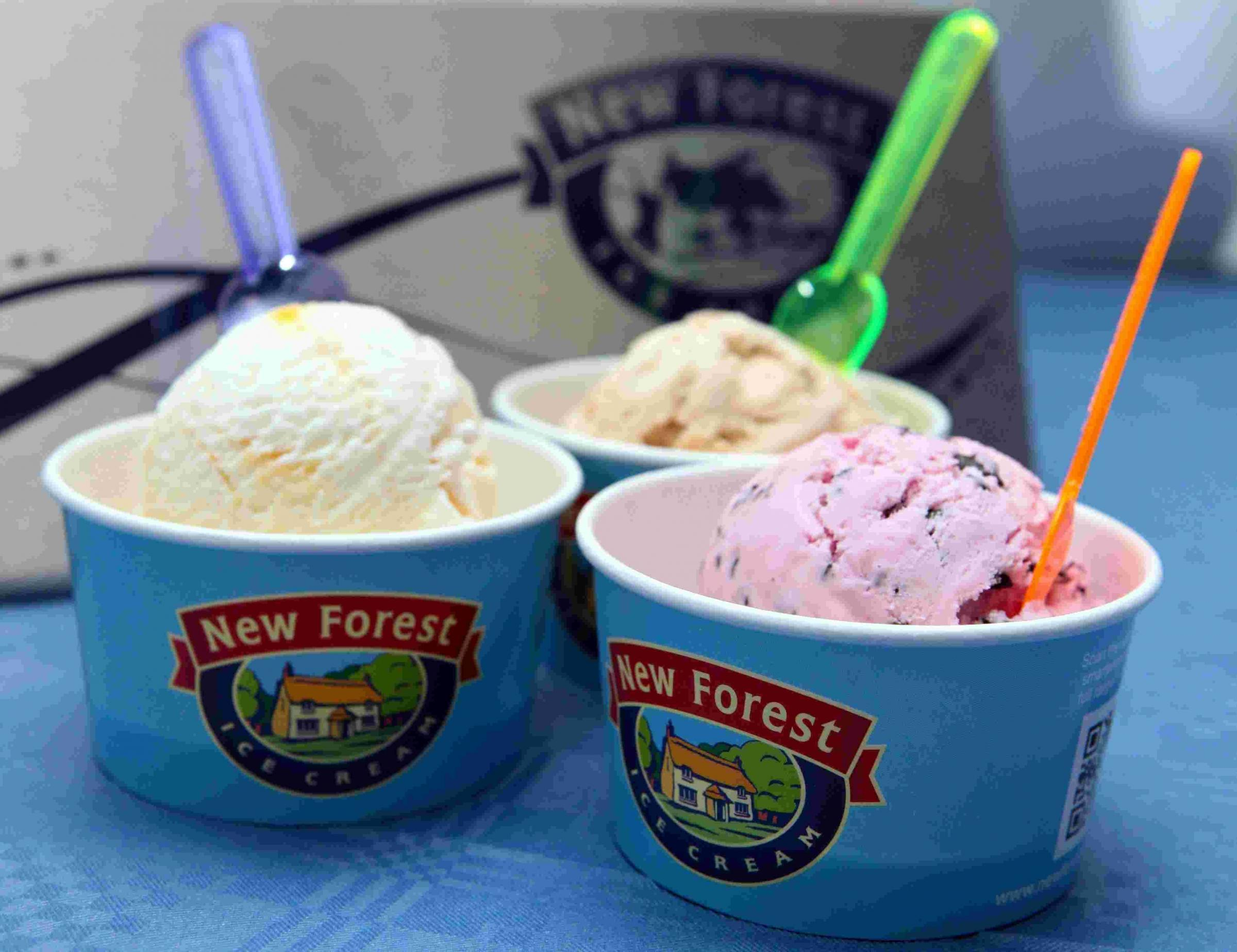 New Forest ice cream steps into the limelight