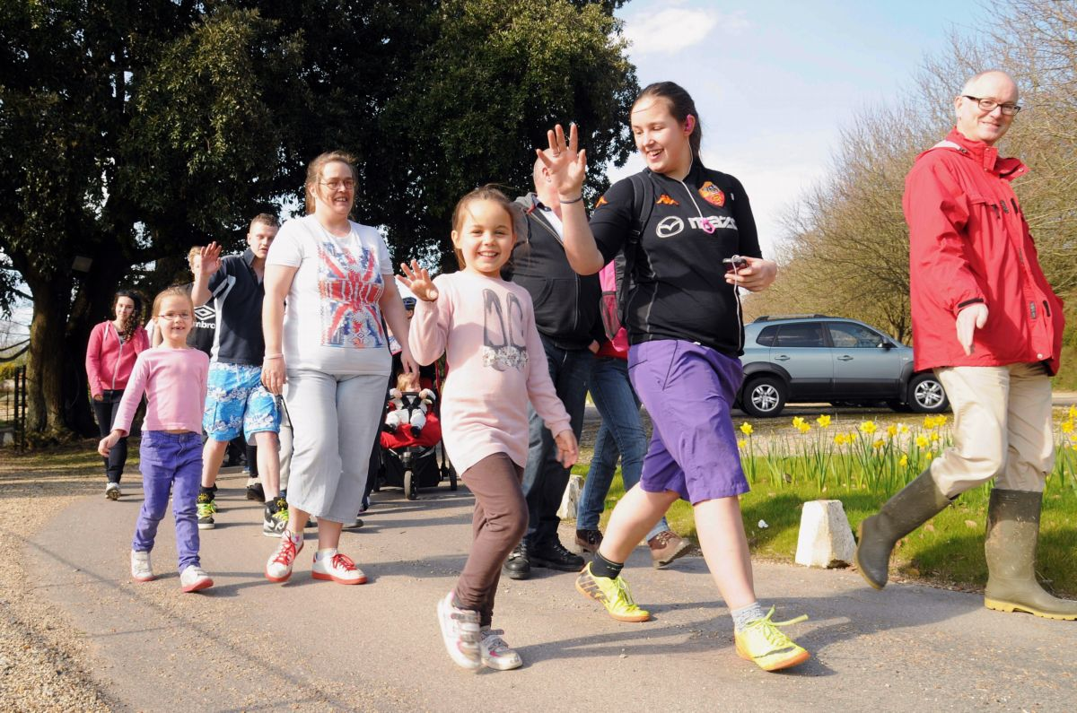 Diabetes charity gets boost through sponsored walk