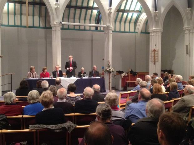 Big changes loom for NHS in Winchester, meeting hears