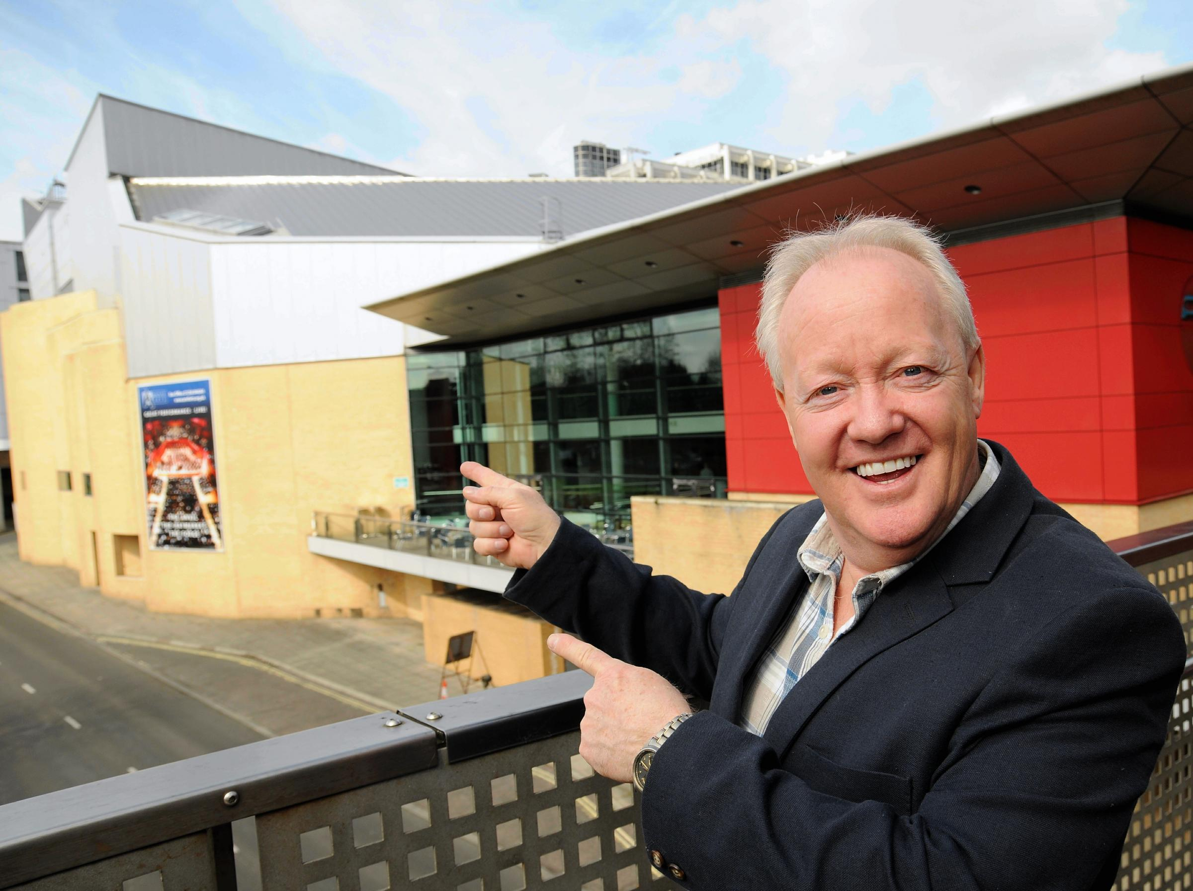 Keith Chegwin will be one of the stars to appear in Cinderella at The Anvil this year