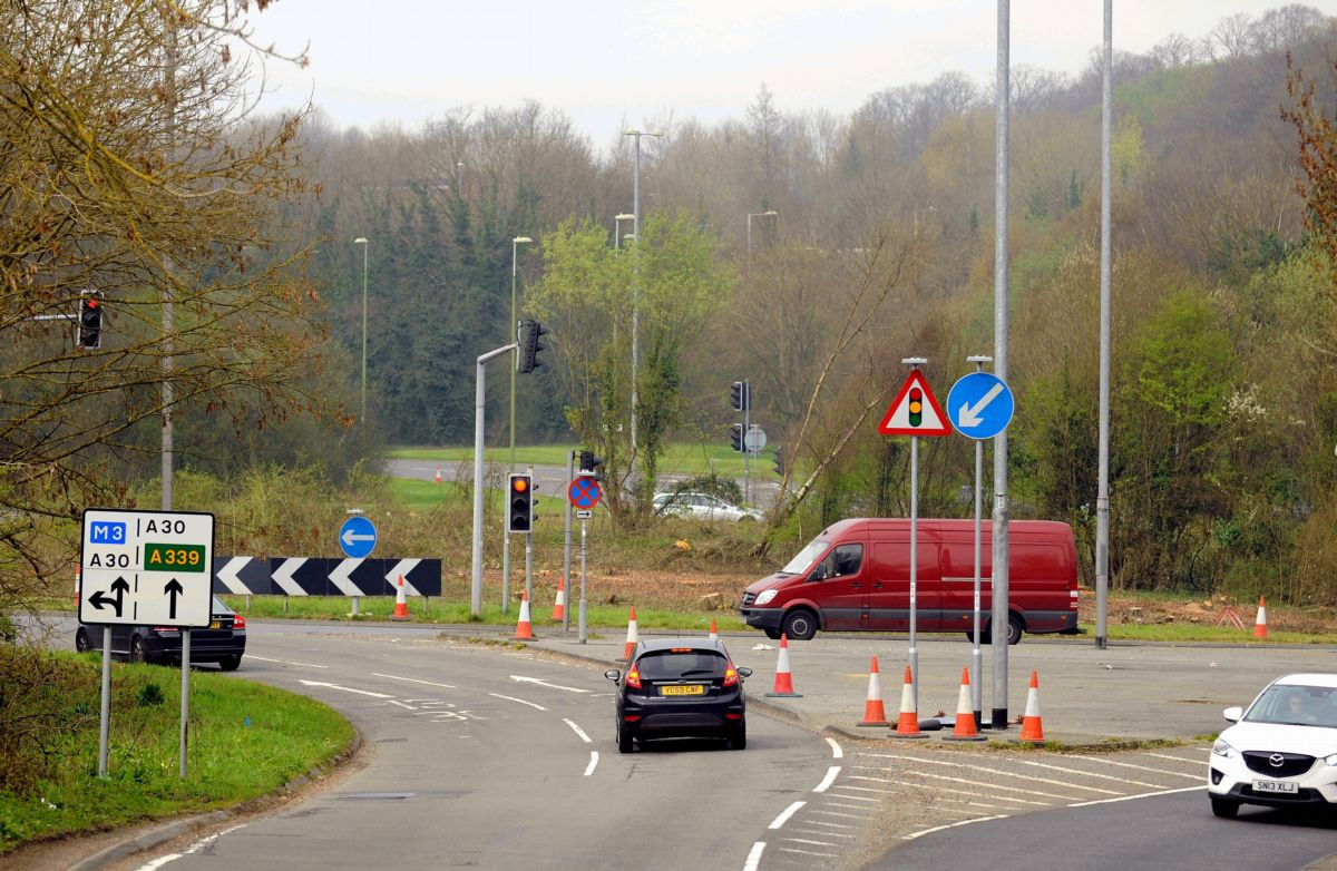 Multi-million pound scheme to transform roundabout has been altered