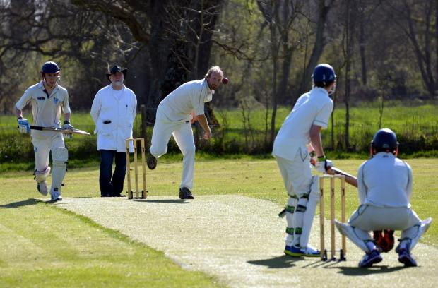 Hurstbourne Priors' Jon Hopkinson picked up two wickets