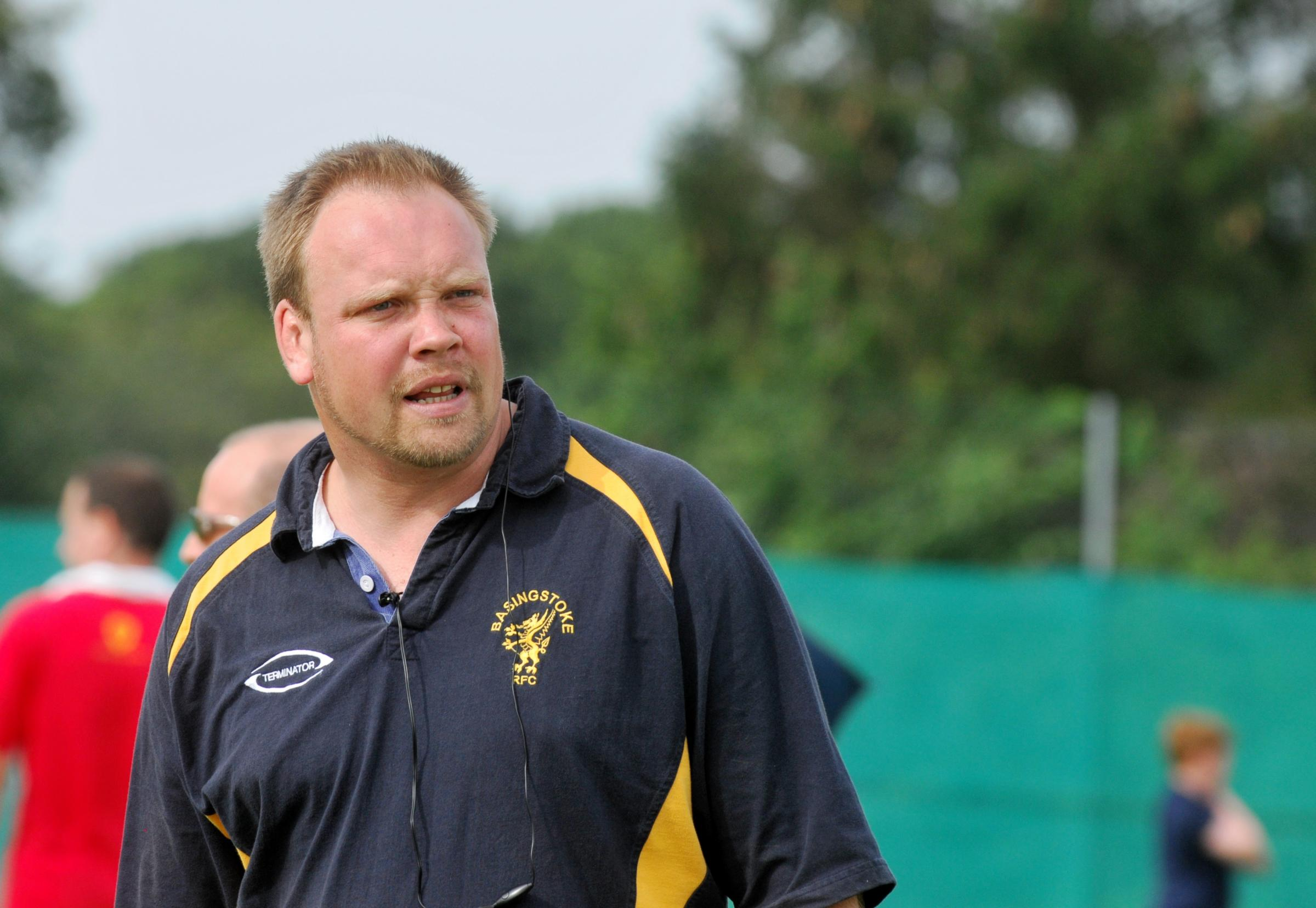 Basingstoke RFC director of rugby James Croker