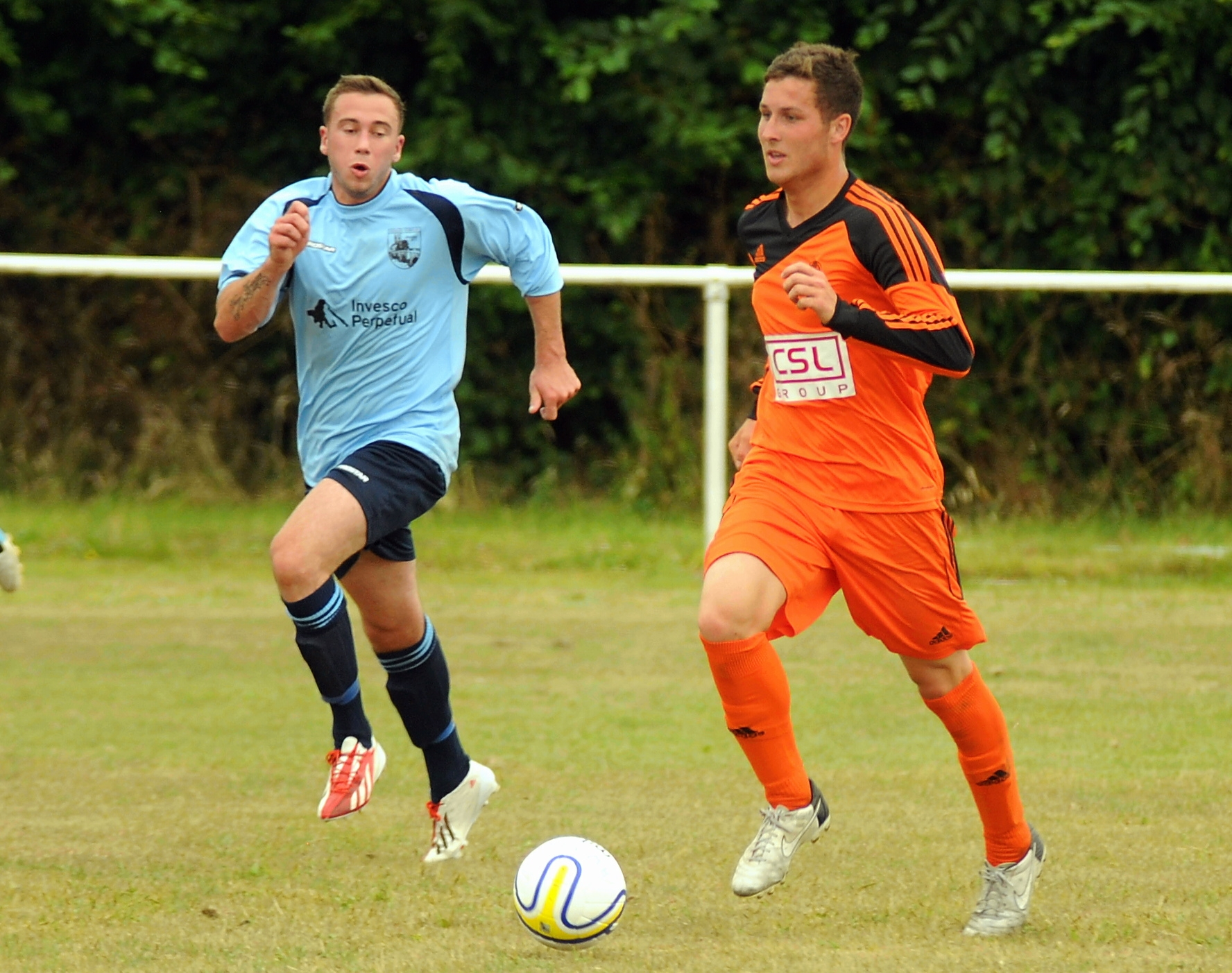 Jack Coventry scored for Hartley Wintney
