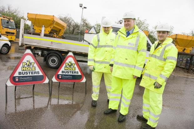 'Pothole Busters' from Hampshire County Council