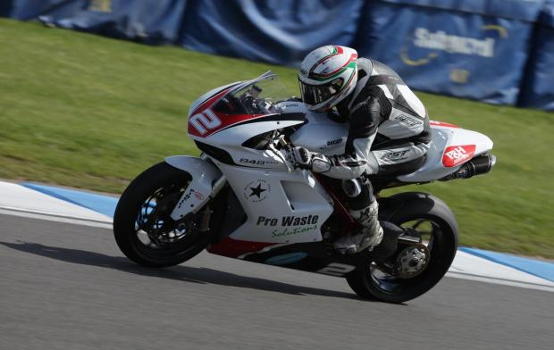 Leon Morris had a first and a second at Brands Hatch over the weekend