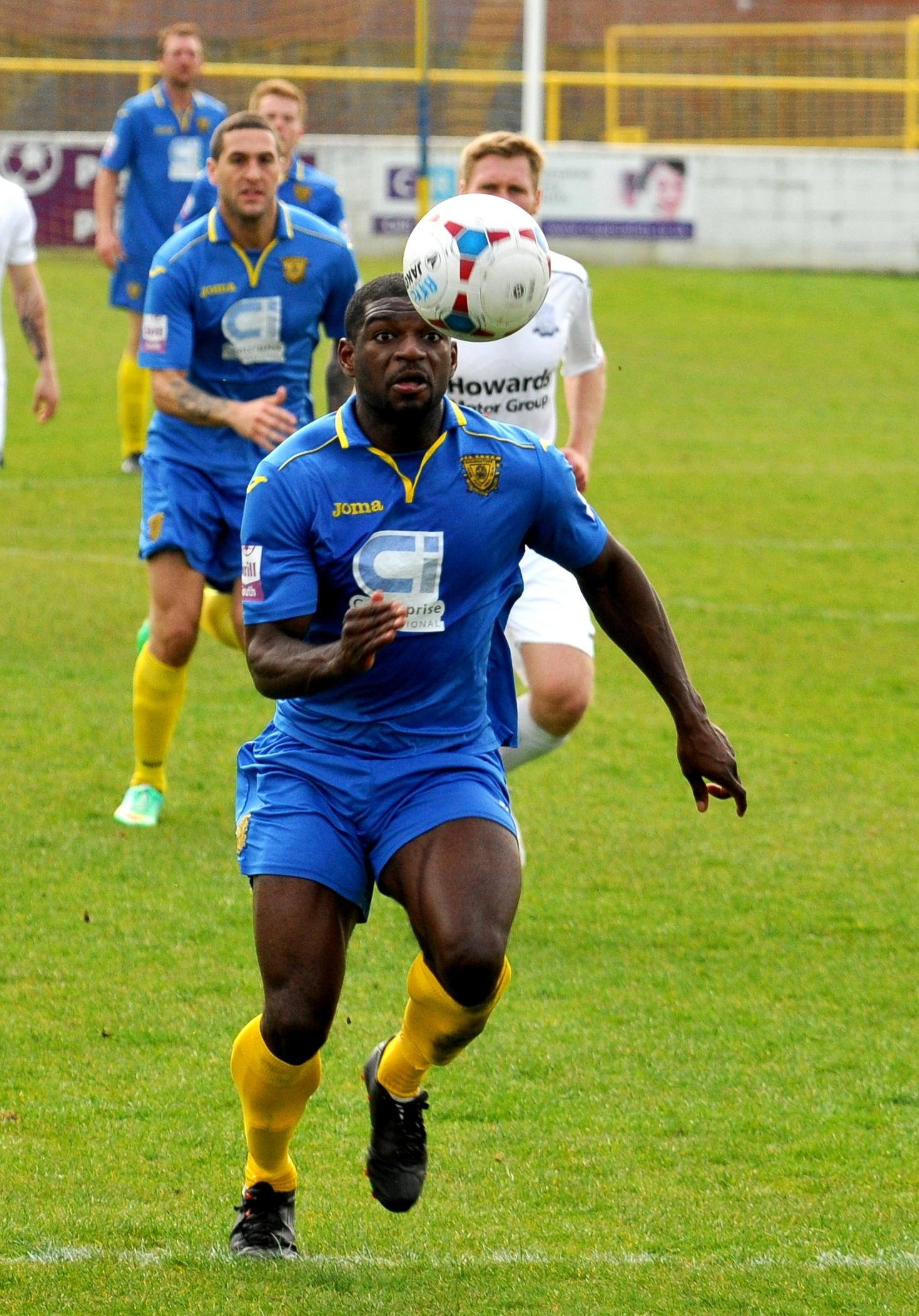 Nicholas Bignall was unable to convert Basingstoke's best chance of the match.