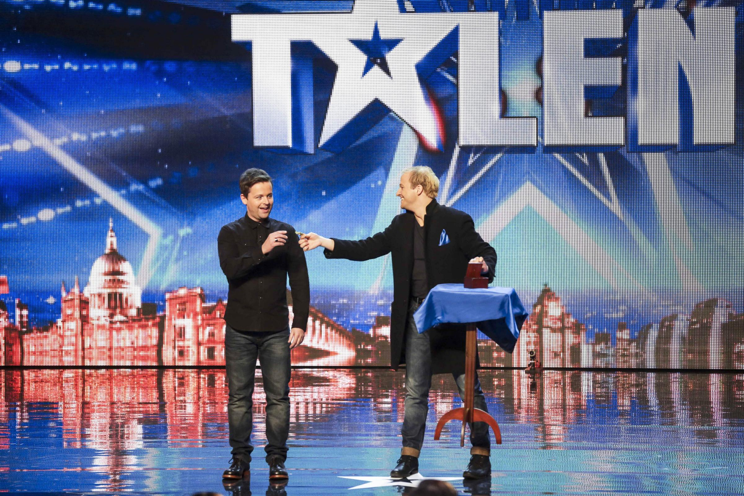Basingstoke Magician Alex Lodge Fails To Impress Simon Cowell And Britain S Got Talent Judging Panel Basingstoke Gazette
