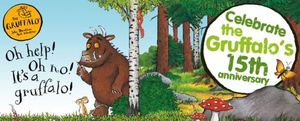 Families invited to gather in their local forest to celebrate The Gruffalo's 15th anniversary