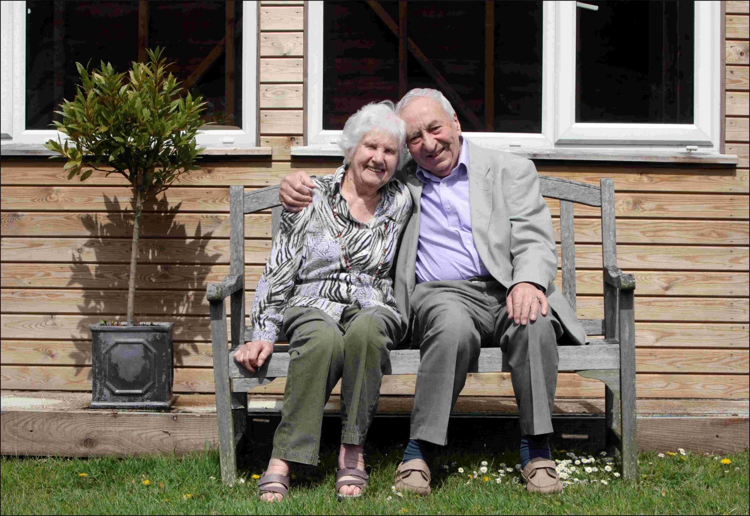 Winchester couple celebrate 70 years of marriage